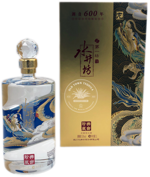 Limited Edition Shui Jing Fang Dragon Baijiu 1 Liter