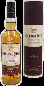 Highland Queen Majesty Highland Single Malt Scotch Whisky Aged 8 Years