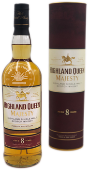 Highland Queen Majesty Highland Single Malt Scotch Whisky Aged 8 Years