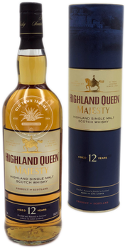 Highland Queen Majesty Highland Single Malt Scotch Whisky Aged 12 Years