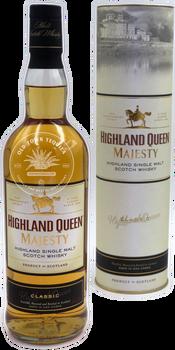 Highland Queen Majesty Classic Highland Single Malt Scotch Whisky