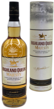 Highland Queen Majesty Classic Highland Single Malt Scotch Whisky