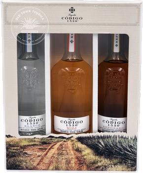 Tequila Codigo 1530 3x 375ml