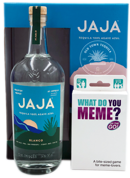 Jaja Tequila Blanco x What Do You Meme Party in a Box