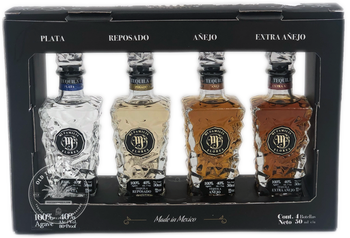 Mi Familia Flores Tequila 4 Class Pack x 50ml