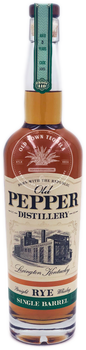 Old Pepper Single Barrel Straight Rye Whiskey 750ml