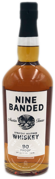 Nine Banded Straight Bourbon Whiskey 750ml