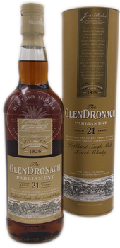 The GlenDronach Parliament Highland Single Malt Scotch Whiskey Aged 21 Years