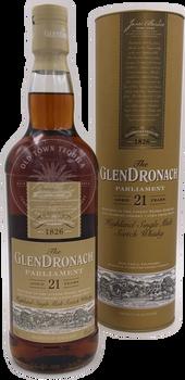 The GlenDronach Parliament Highland Single Malt Scotch Whiskey Aged 21 Years