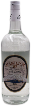 Hamilton 87 White 'Stache Rum 1L