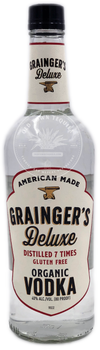 Grainger's Deluxe Organic Vodka 750ml
