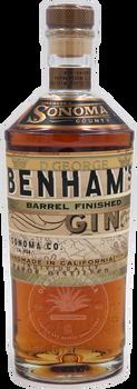Benham's Barrel Finished Gin 750ml