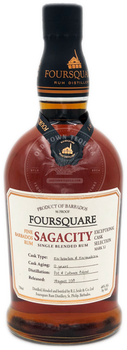 Foursquare Sagacity Single Blended Rum 750ml