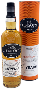 Glengoyne 10 Year Highland Single Malt Scotch Whisky 750ml