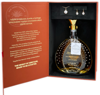 Don Ramon Tequila Añejo Limited Edition Crystals from Swarovski