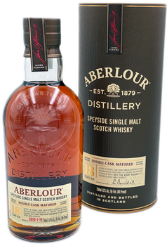 Aberlour Speyside Single Malt Scotch Whiskey Aged 18 Years 750ml