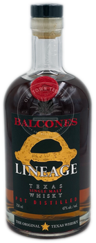 Balcones Lineage Texas Single Malt Whisky 750ml