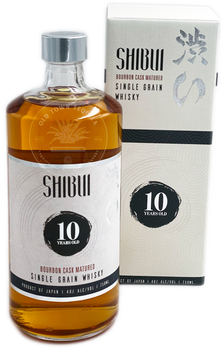 Shibui Single Grain  Bourbon Cask 10 Year Old Japanese Whisky