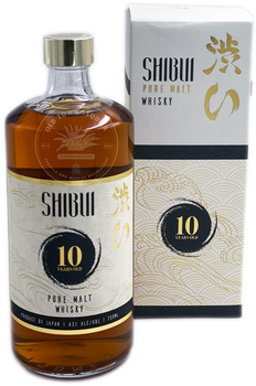 Shibui Pure Malt 10 Years Old Japanese Whisky