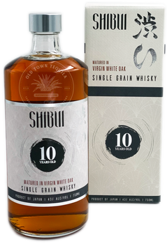 Shibui Single Grain  Virgin White Oak Cask 10YR Japanese Whisky