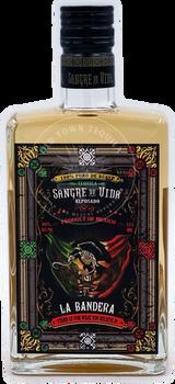 Sangre de Vida Lotería La Bandera Tequila Reposado 375ml