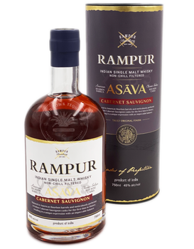 Rampur Asava Cabernet Sauvignon Indian Single Malt Whisky