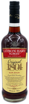 Lemon Hart & Son Rum Purveyors Original 1804 Rum Rhum