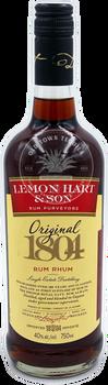 Lemon Hart & Son Rum Purveyors Original 1804 Rum Rhum