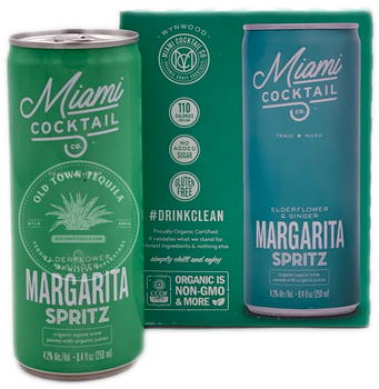 Miami Cocktail Margarita Spritz 4x8.4 oz