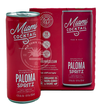 Miami Cocktail Paloma Spritz 4x8.4 oz