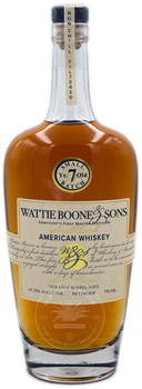 Wattie Boone & Sons Small Batch American Whiskey Aged 7 Years
