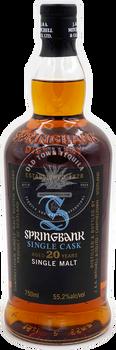 Springbank Single Cask Aged 20 Years Single Malt Scotch Whisky