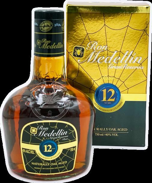 Ron Medellin Gran Reserva 12 Year Old Rum 750ml