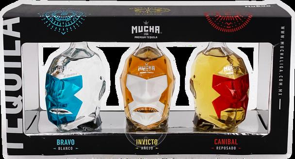 Mucha Liga Premium Tequila Combo Set 3x100ml