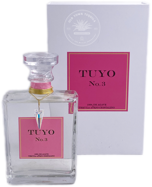 Tuyo No.3 Tequila Añejo Cristalino 375ml