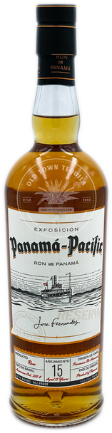 Panama Pacific Aged 15 Years Rum 750ml