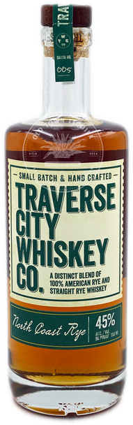 Traverse City Whiskey Co. North Coast Rye 750ml