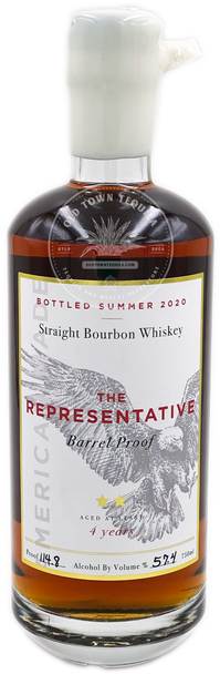 The Representative Straight Bourbon Whiskey Aged 4 Years