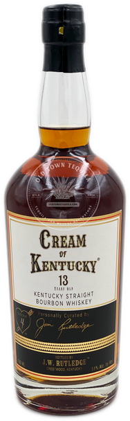Cream of Kentucky Straight Bourbon Whiskey Aged 13 Years