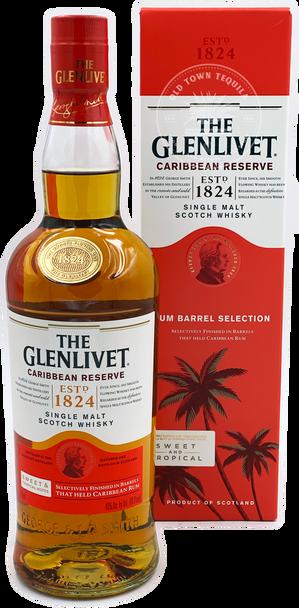 The Glenlivet Caribbean Reserve Single Malt Scotch Whisky