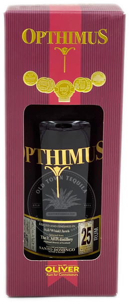 Opthimus Oliver Rum Aged 25 Years 750ml