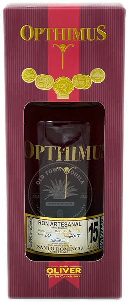 Opthimus Oliver Rum Aged 15 Years 750ml