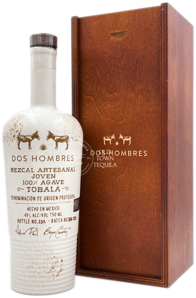Dos Hombres Tobala Mezcal Artesanal Joven Limited Edition