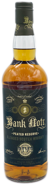 Bank Note Peated Reserve Blended Scotch Whisky Aged 5 Years