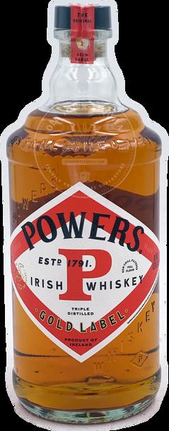 Powers Irish Whiskey Gold Label 750ml