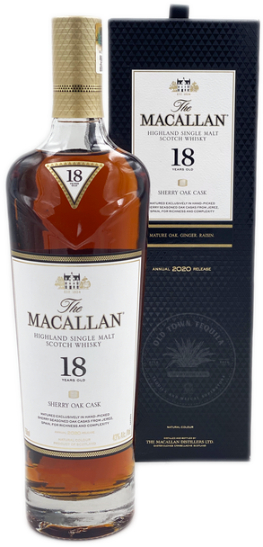 The Macallan Highland Single Malt Scotch Whisky Aged 18 Years