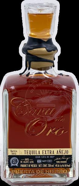 Cava de Oro Barrica Selecta Cask Strength Extra Anejo Tequila 2019 Edition
