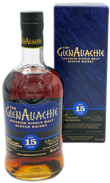The GlenAllachie Speyside Single Malt Scotch Whisky Aged 15 Years