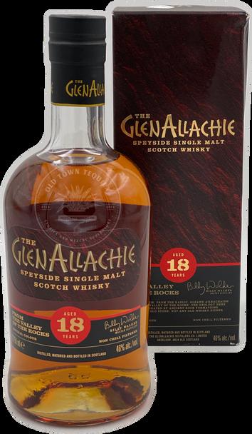 The GlenAllachie Speyside Single Malt Scotch Whisky Aged 18 Years