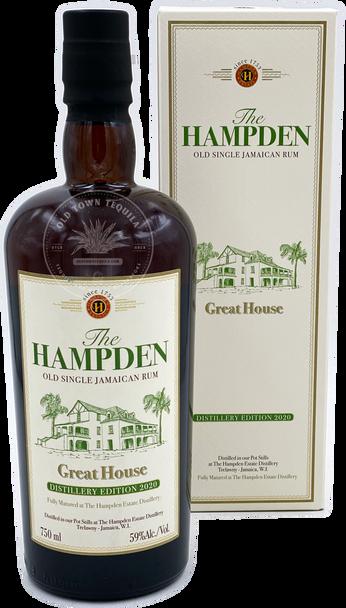 The Hampden Great House Old Single Jamaican Rum Distillery Edition 2020